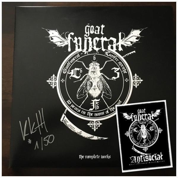 Goatfuneral - 10 years in the name of the goat/Luzifer spricht KKTH Edition 2 LP